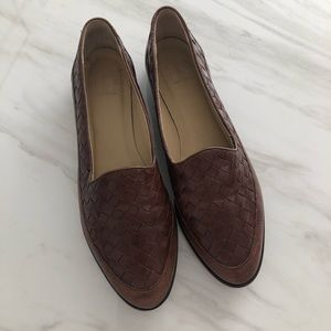 Vintage Gap brown leather loafers